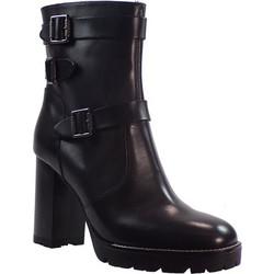 Paola Ferri Γυναικεία Παπούτσια Μποτάκια 4313 Μαύρο Δέρμα 38553 4b6bc3610ea
