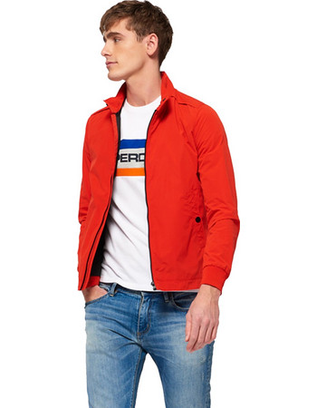 Superdry Premium Iconic Harrington Jacket M50005YQ-MQ2 3e8c696b852