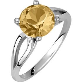 Μονόπετρο δαχτυλίδι σε ασήμι 925 με Citrine πέτρα SWAROVSKI AD-V16101CL1 8b902952050