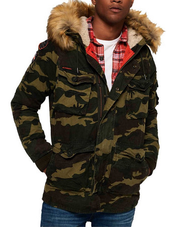 SuperDry Rookie Heavy Weather Parka Jacket M50003NR-UN2 0ed4bef5d0e
