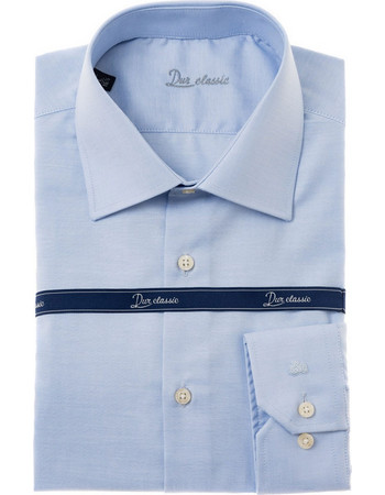 Dur ανδρικό πουκάμισο Oxford - 10000046 - Γαλάζιο e25b37686f9