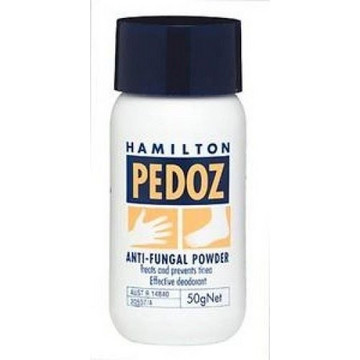 Hamilton Pedoz Anti Fungal Powder 50gr