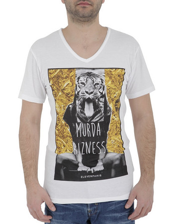 6612b97c9707 αμανικα μπλουζακια ανδρικα - Ανδρικά T-Shirts Eleven Paris ...