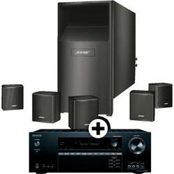 BOSE SET TX-SR444 B + NEW AM-6/V B