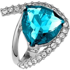 Δαχτυλίδι εντυπωσιακό με πέτρες Swarovski από ασήμι d3f772ad7eb