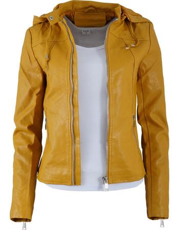 Γυναικείο jacket δερματίνη.Street style.New arrival. ΚΙΤΡΙΝΟ 960f7b50a10