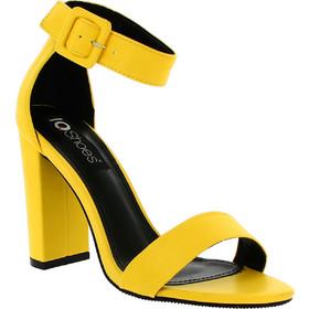 IQSHOES Γυναικείο Πέδιλο H551 Κίτρινο 353ab33c8bb