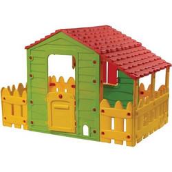 8429eeb9b880 Παιδικό σπιτάκι Φάρμα εξωτερικού χώρου με Φράχτη για τον Κήπο και την  Βεράντα