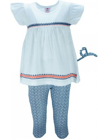 4ae2fa594a2 Παιδικό Σετ-Σύνολο NCollege 28-868 Λευκό Κορίτσι