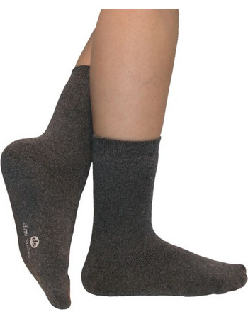 Κάλτσες Dimi Socks πετσετέ εσωτερικό Βαμβακερές 100% ΑΝΘΡΑΚΙ d8f1de1c422