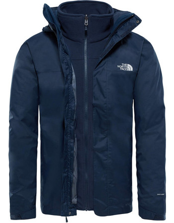 T0CG55H2G THE NORTH FACE ΜΠΟΥΦΑΝ EVOLVE II TRICLIMATE - NAVY 695cd5388c0
