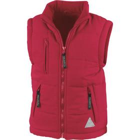 232cb95a754 Παιδικό αμάνικο μπουφάν Bodywarmer Result R088J - Red