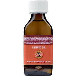 ΛΙΝΕΛΑΙΟ LINSEED OIL 100ml KOH-I-NOOR