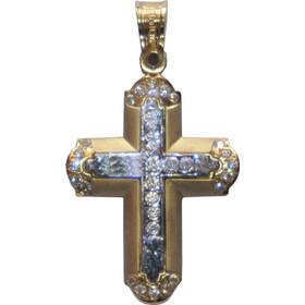 Χρυσός γυναικείος σταυρός Κ14 1112123 910a47f75b4