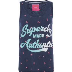 SUPERDRY D2 MADE AUTHENTIC AOP ENTRY VEST ΜΠΛΟΥΖΑ ΓΥΝΑΙΚΕΙA G60006HQ-BCY  (BCY PRINCEDOM 782478a2e74