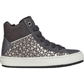 Geox παιδικά sneakers μποτάκια JR Kalispera - J844GD-2 - Γκρι 3c50188c869
