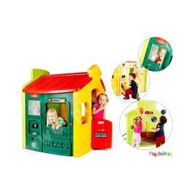c30920bec807 Παιχνίδια Εξωτερικού Χώρου και Μίμησης Little Tikes Πλαστικό παιδικό σπιτάκι  Πολλών δραστηριοτήτων Evergreen Little Tikes