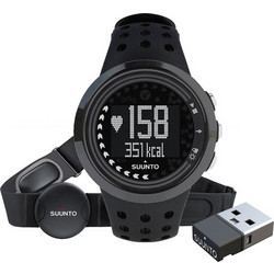 Suunto M5 All Black Bundle