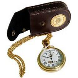 Ρολόι τσέπης με δερμάτινη θήκη 590421e2055
