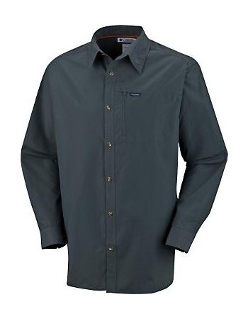 COLUMBIA EAST PEAK LONG SLEEVE SHIRT (ΣΚΟΥΡΟ ΜΠΛΕ ΧΡΩΜΑ) 7010c6adb32
