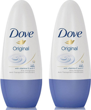 Dove Original Roll On 2x50ml