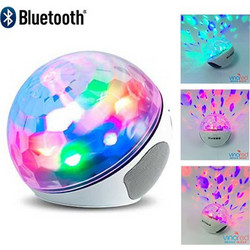 Bluetooth USB/SD Mp3 Player Φωτορυθμικό LED Color Ball USB/SD Mp3 Player Speaker Handsfree