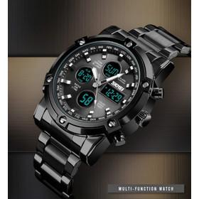 Ρολόι χειρός ανδρικό SKMEI 1389 BLACK 5ae727df6f9