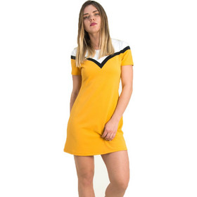 381f7a335665 Γυναικείο ώχρα φόρεμα άλφα γραμμή Lipsy 1190602