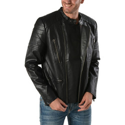 22db83143f8 Basehit PU Fake Leather Jacket 172.BM16.04-Black