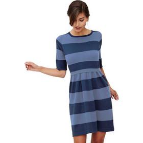 a7e375adc64e Οργανικό φόρεμα θηλασμού μανίκια 3 4 Milker