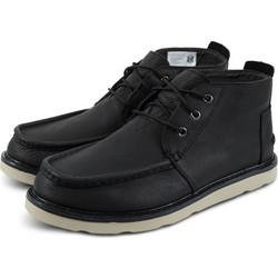 e362279d6fc Toms Chukka Black Leather 10012526 Μαύρο
