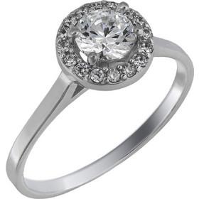Swarovski μονόπετρο δαχτυλίδι λευκόχρυσο Κ14 025846 025846 Χρυσός 14 Καράτια 40307f9f4b6