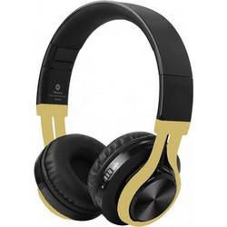 473b0123c9 Crystal Audio Ασύρματα Ακουστικά Bluetooth BT-01-KG Black Gold