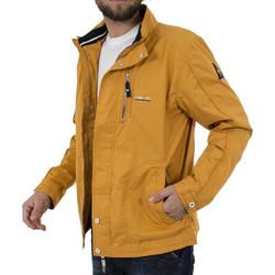 bdee59497027 Ανδρικό Αντιανεμικό Μπουφάν Sailing Jacket DOUBLE MJK-111 Κίτρινο