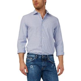 dc51c891ba41 Πουκάμισο μακρυμάνικο με μικροσχέδιο Gas Jeans (SIR-C8-BLUE-1706)