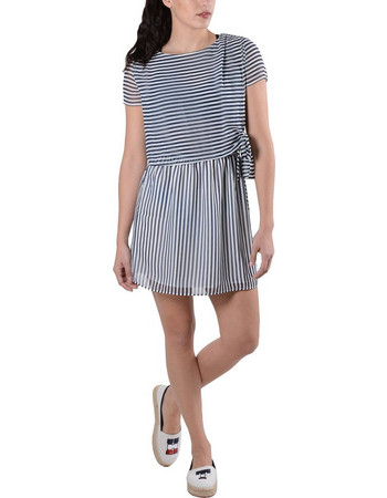 e9f17bde6b4c Tommy Hilfiger Stripe Γυναικείο Φόρεμα DW0DW04233-902