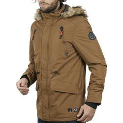 Ανδρικό Μακρύ Μπουφάν Parka Jacket με Κουκούλα ICE TECH G629 Mustard ad9033862e1