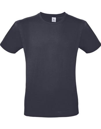2b55ec59e5c5 Ανδρικό Βαμβακερό Μπλουζάκι E150 T-Shirt Light Navy tu01t
