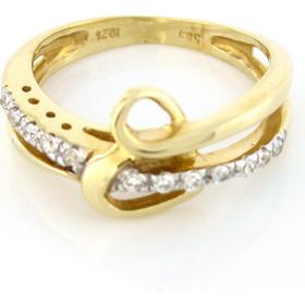 Χρυσό δαχτυλίδι 14 καράτια με καρδιά και ζιργκόν 6b32a970e9f