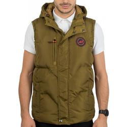 5864f969801d Ανδρικό Αμάνικο Μπουφάν Γιλέκο Puffer Jacket με Κουκούλα ICE TECH G525  Mustard