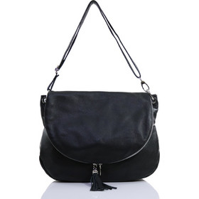 13620f17199 Passaggio Leather Μessenger Bag Τσάντα Ώμου Από Γνήσιο Δέρμα (Μεγάλη)