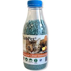 bde068bf24db ZeoPet με άρωμα πορτοκάλι και κανέλα - Φυσικό πρόσθετο απόσμησης λεκάνης  γάτας για 30 ημέρες -