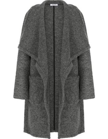 Μπουκλέ παλτό με τσέπες WL7817.7625+1 d7fdf1d5628