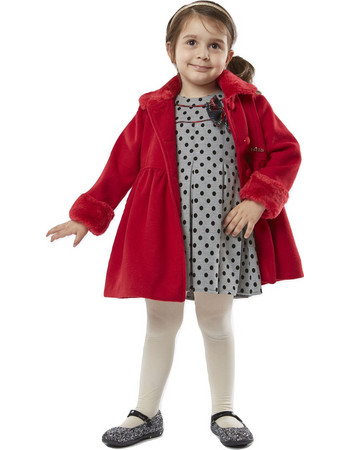 κοκκινο παιδικο παλτο - Μπουφάν Κοριτσιών  e1f56767618