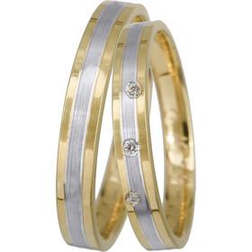 Βέρες γάμου πρωτότυπες Κ14 BRS0905DP BRS0905DP Χρυσός 14 Καράτια μεμονωμένο  τεμάχιο af0809b0989