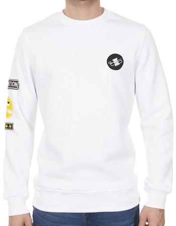 Ανδρικό Φούτερ PONTE ROSSO WEIRDO 18-1044 Λευκό c178b676e2d