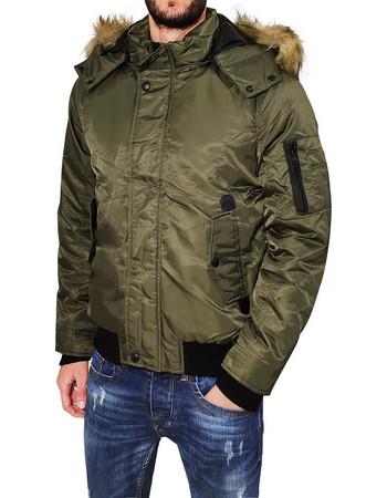 jacket χακι - Ανδρικά Μπουφάν (Σελίδα 3)  05534bc47c5