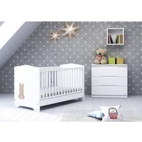 ad130b204ae Βρεφικό μετατρεπόμενο σε εφηβικό κρεβάτι Casababy - Rabbit + Δώρο στρώμα