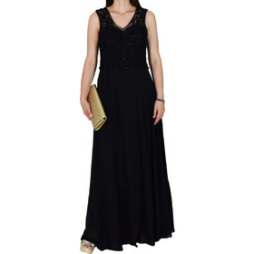 ddbebf45e6e1 Φόρεμα Αμπιγιέ M-8491 Μαύρο m-8491 mayro