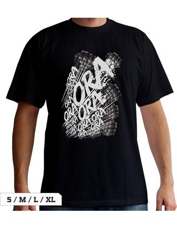 JoJos Bizarre Adventure T-Shirt Ora Ora Ora! (Jojos) 852f3a7e727